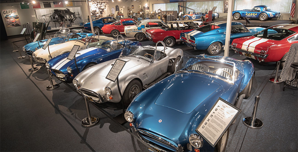 A view from inside the Cobra Experience museum