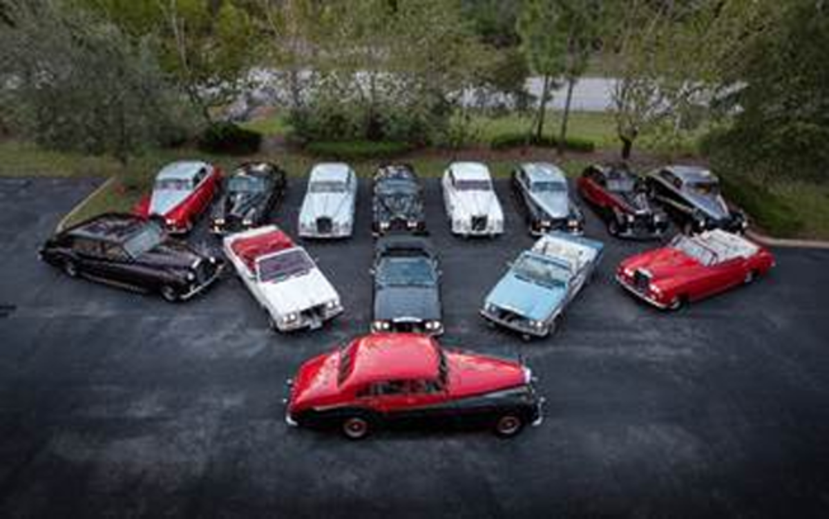 A snapshot of highlights within The Bikram Choudhury Car Collection