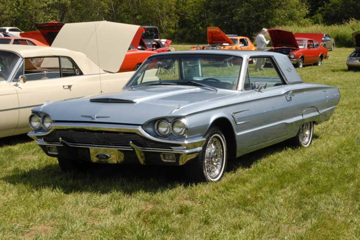 Car Of The Week 1965 Ford Thunderbird Old Cars Weekly