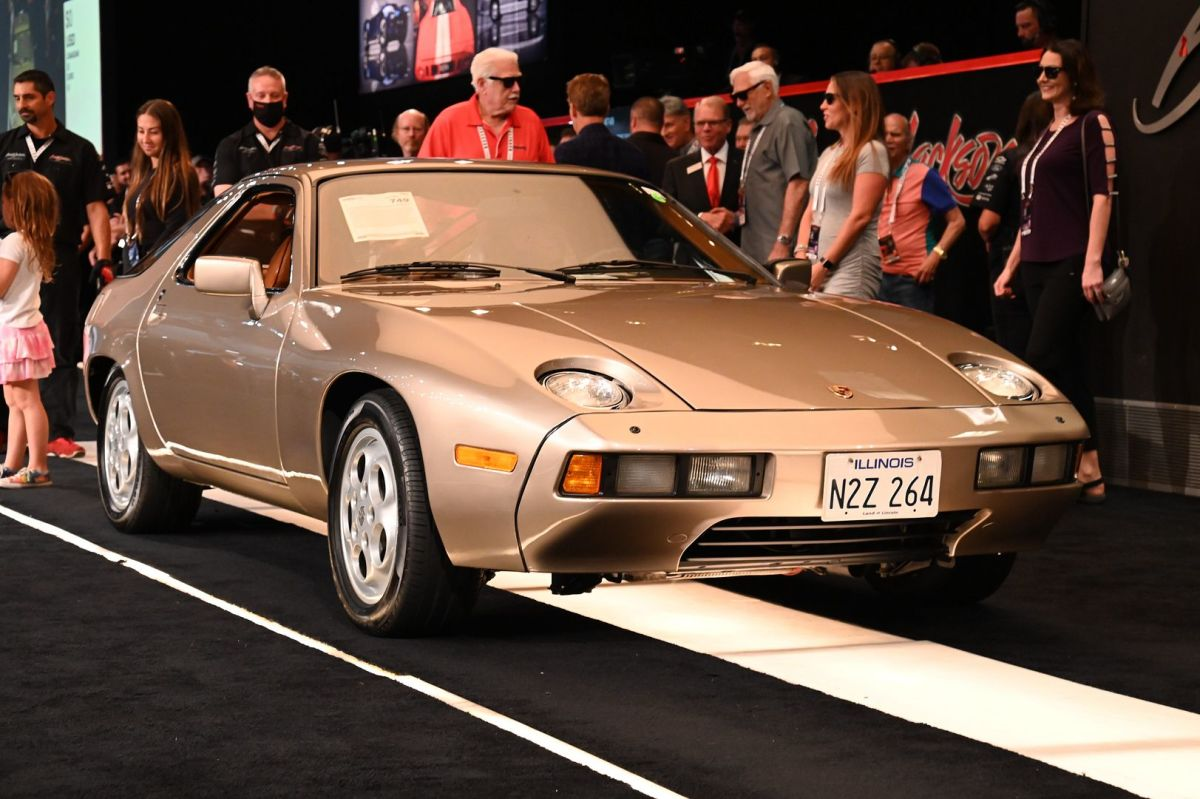 """1979 Porsche 928 driven by Tom Cruise in the film """"Risky Business"""" that sold for $1.98 million"""
