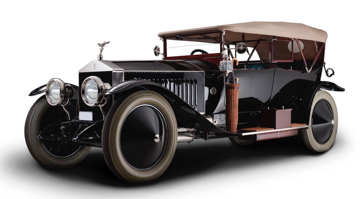 1913 Rolls Royce 40-50hp Silver Ghost London Edinburgh Tourer