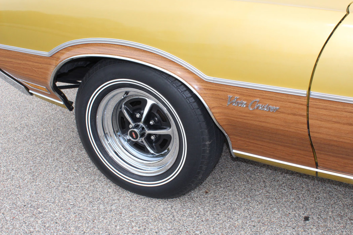 """Maher chose to upgrade the 14"""" wheels to the 15"""" wheel option."""