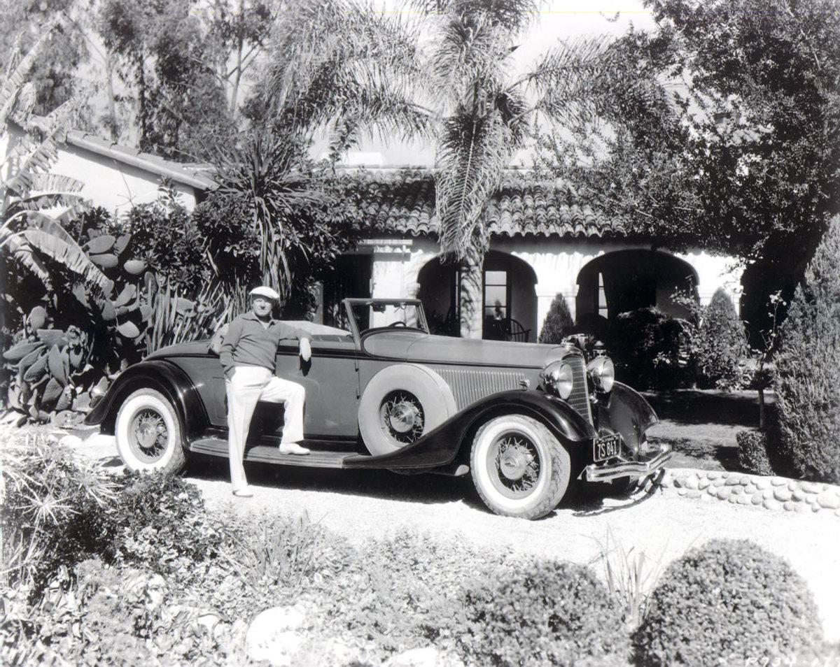 1933 Lincoln KB LeBaron convertible roadster