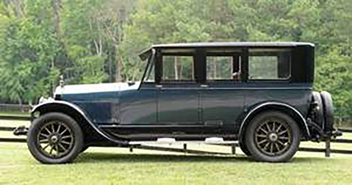 1922 Lincoln type 118 limousine