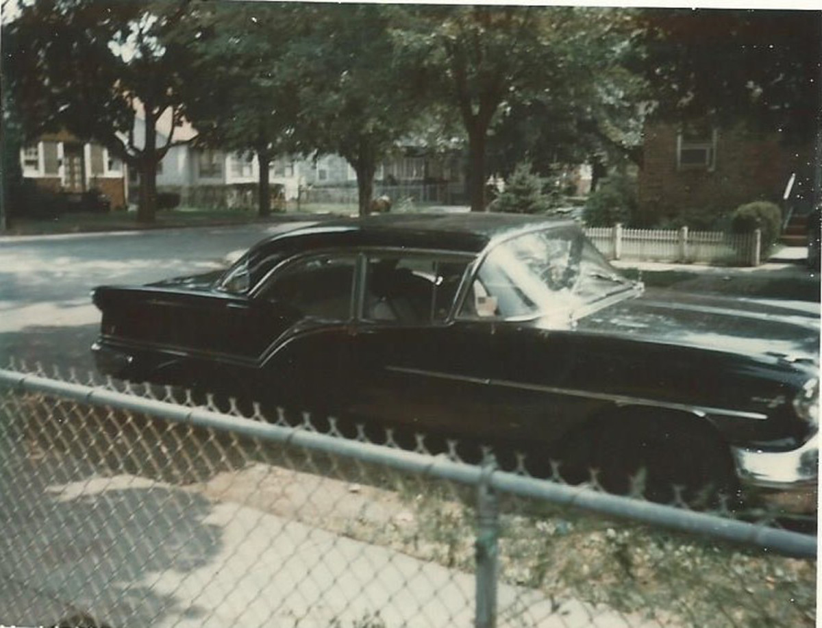 The '57 Olds that was swapped for a Nova.