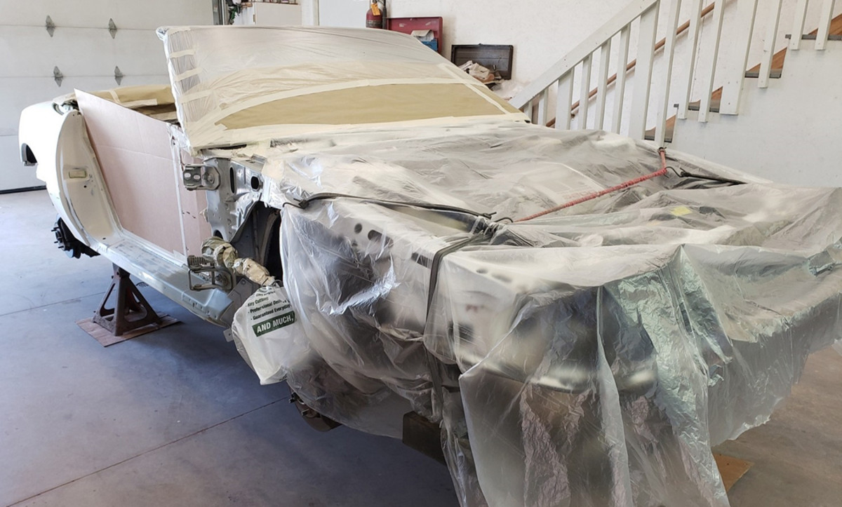 """Making sure it was """"right"""" included dealing with freshening up the paint job"""