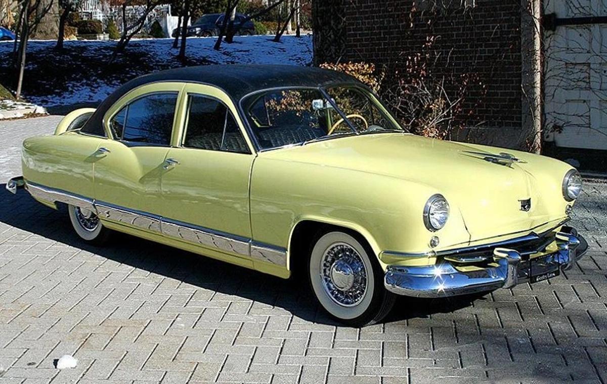 This 1951 Kaiser Deluxe sedan features Golden Dragon 1