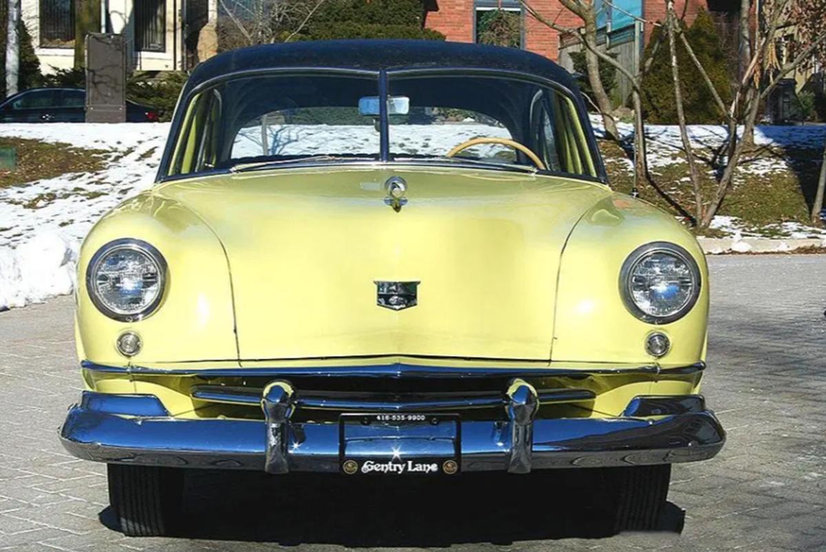 This 1951 Kaiser Deluxe sedan features Golden Dragon 6