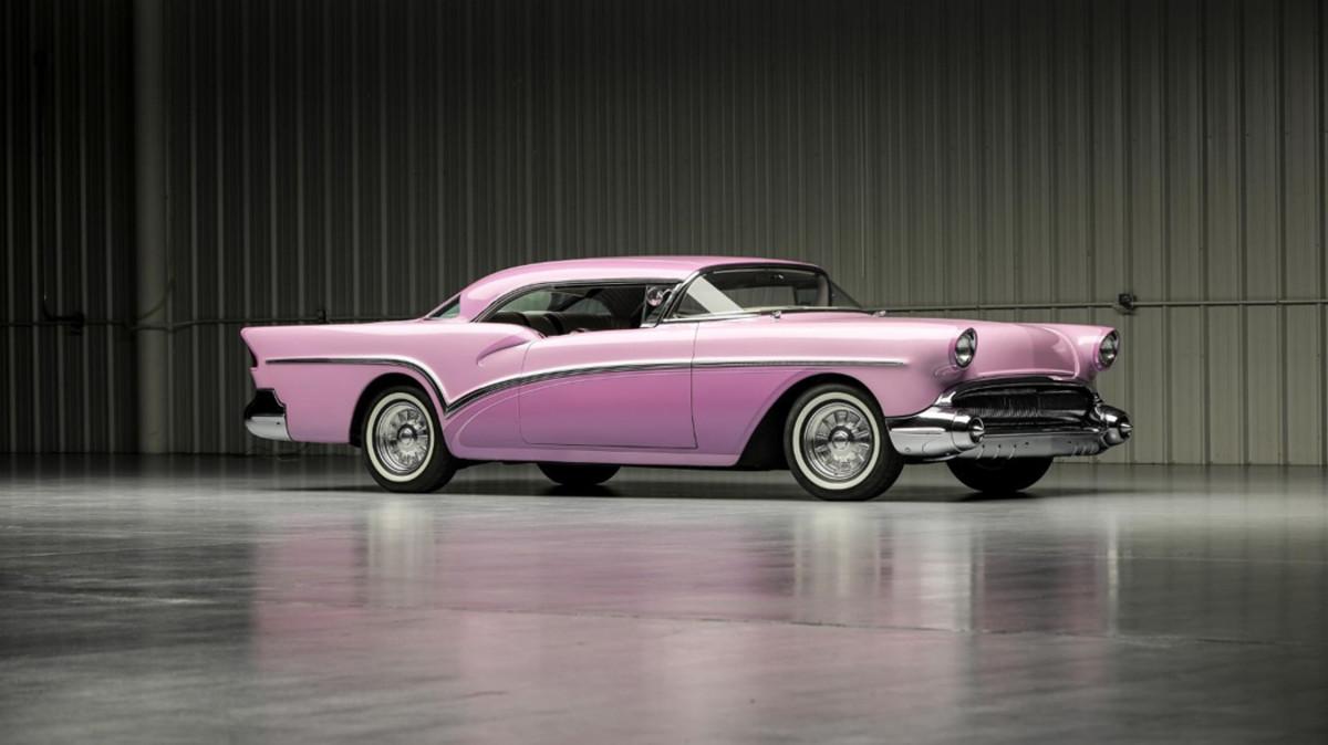 """1957 Buick Century """"Lavender Persuasion"""" Custom Coupe"""