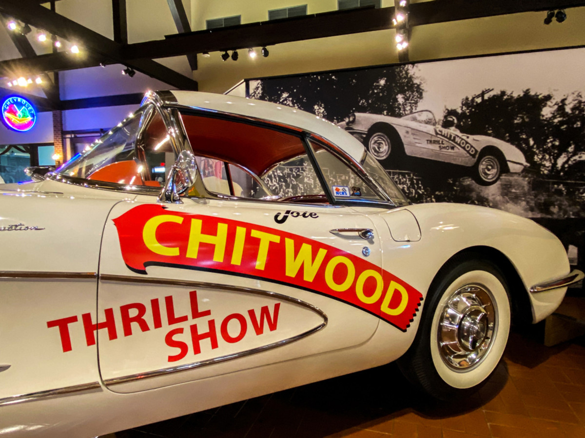 The Joie Chitwood Corvette