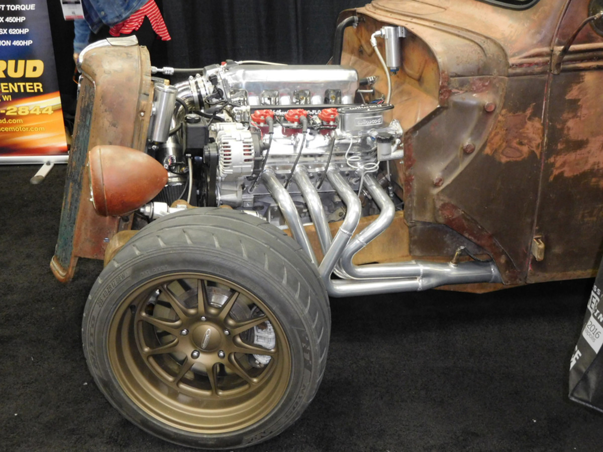 5.7L of Chevy LS power