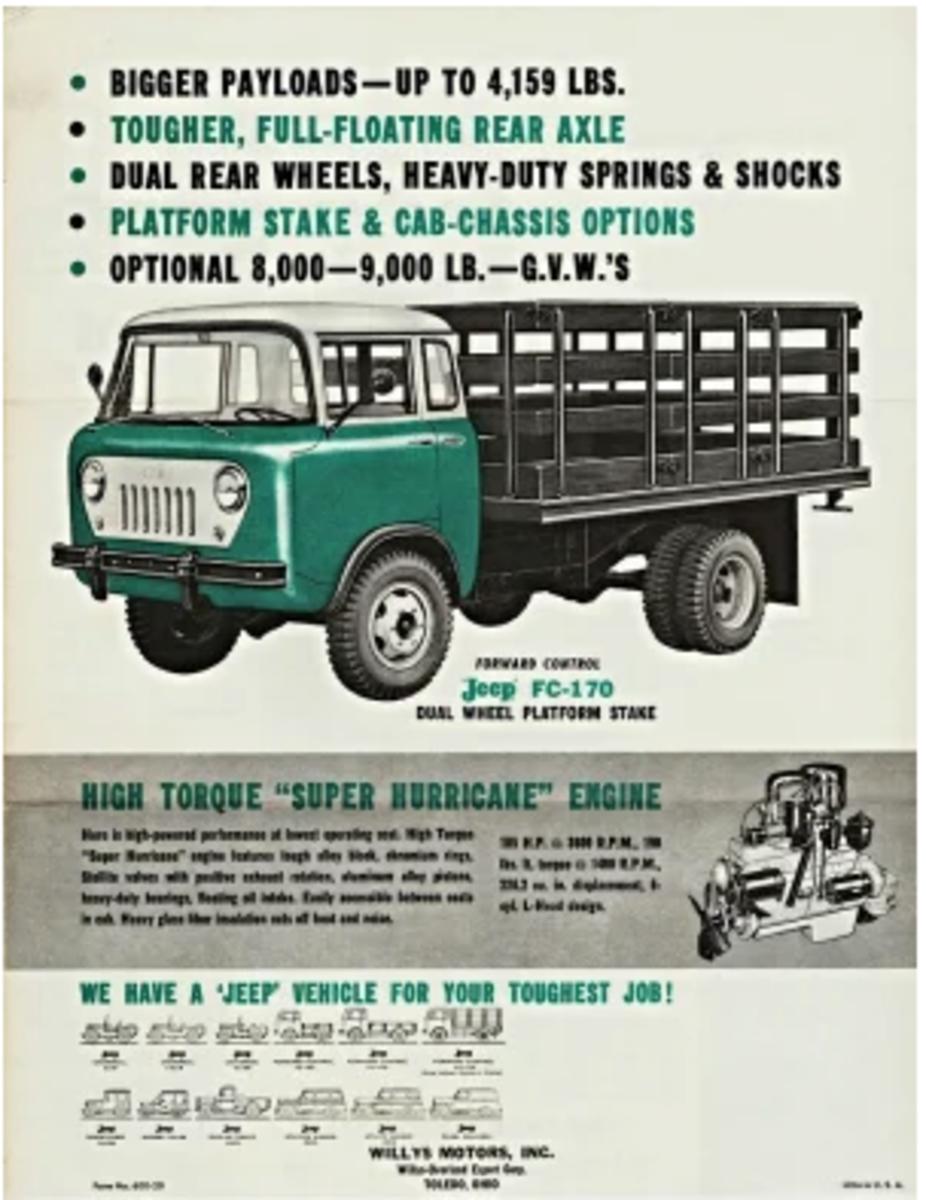 Original brochure for the FC-170