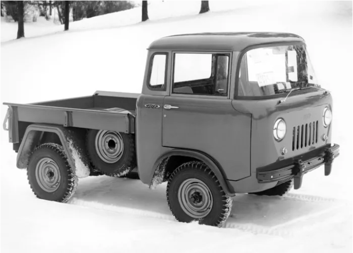 1956 factory photo of an FC-150