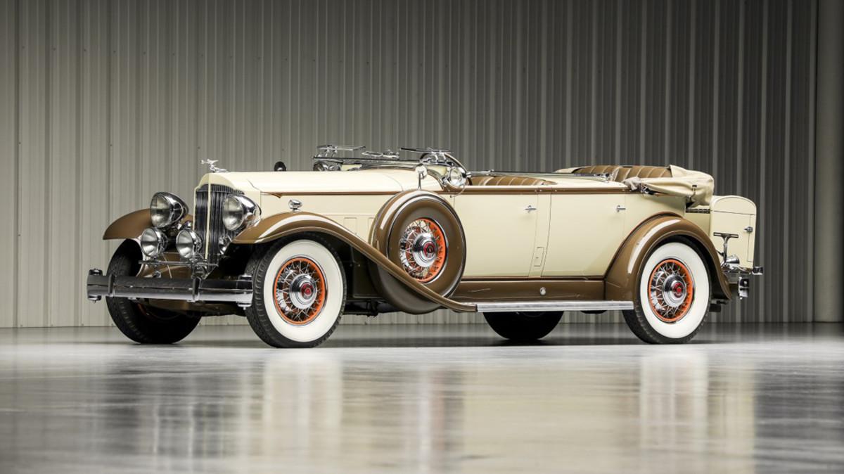 1932 Packard Twin Six 905 Sport Phaeton