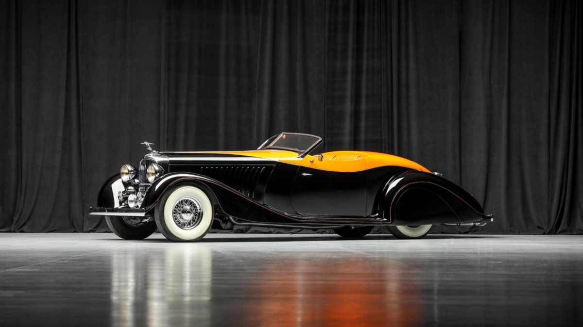 """1936 Deco Rides """"Maharaja Special"""" One-Off Custom, built by Terry Cook of Deco Rides and Delahaye USA"""