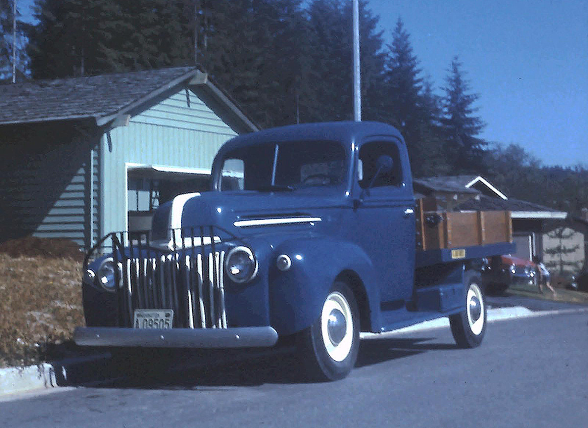 '47 Ford 1/2 ton, stake bed pickup