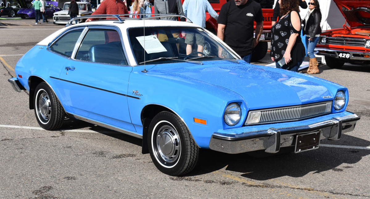 A popular model from the start, the Pinto Runabout was practical and reliable. This 1974 model is fitted with Luxury Décor trim and optional roof-rack.