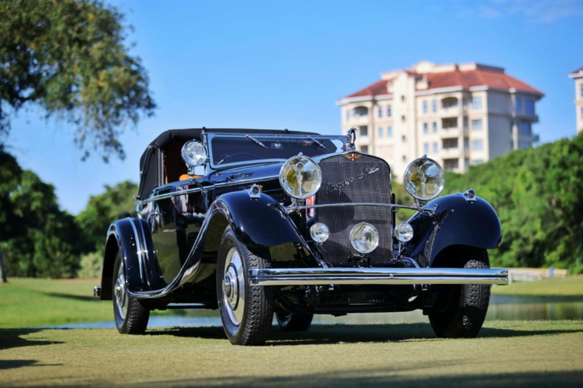 1926 Hispano-Suiza H6B Cabriolet, 2021 Best in Show, Concours d'Elegance