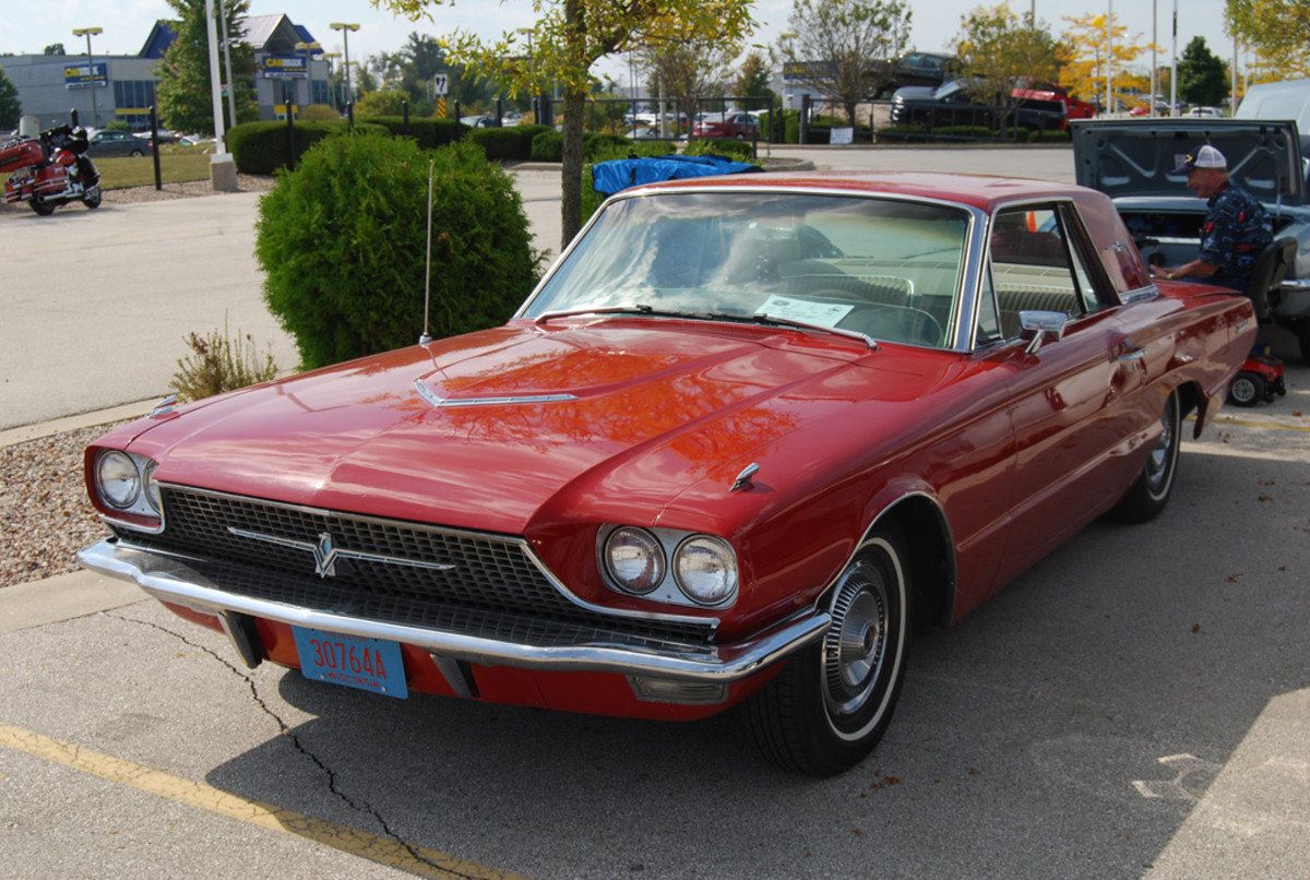 The Thunderbird Town Landau Coupe was one of the best-looking new cars on the road in 1968.