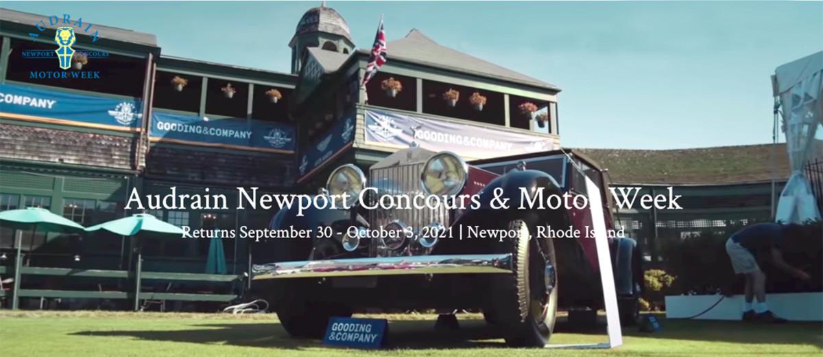 Audrain Newport Concours 2021