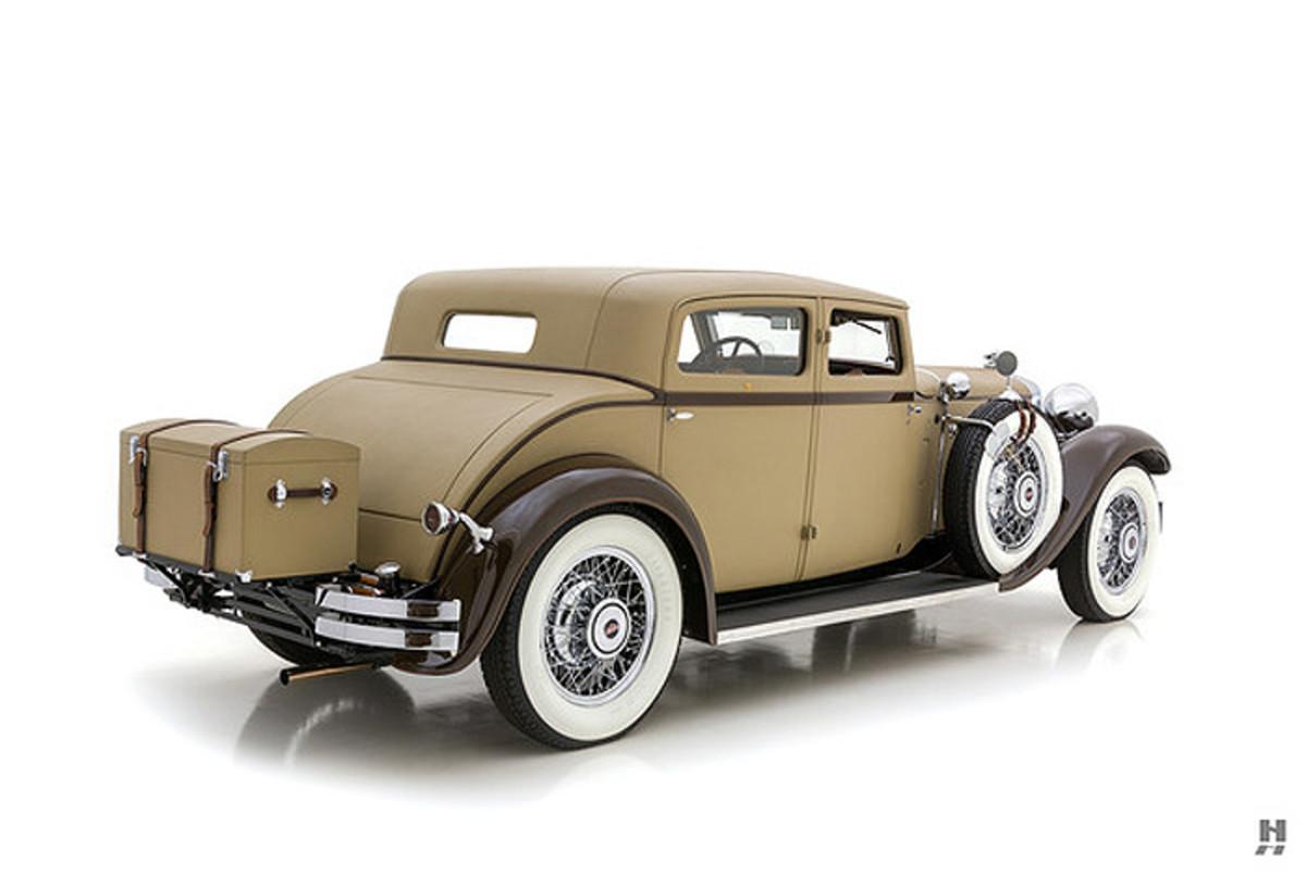 1930 Stutz Monte Carlo Rear