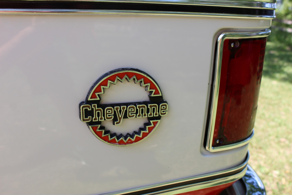 This Blazer has all that the Cheyenne package had to offer back in '79.