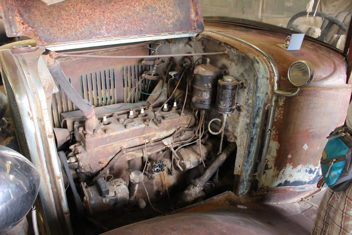 The 55-hp. L-head six engine