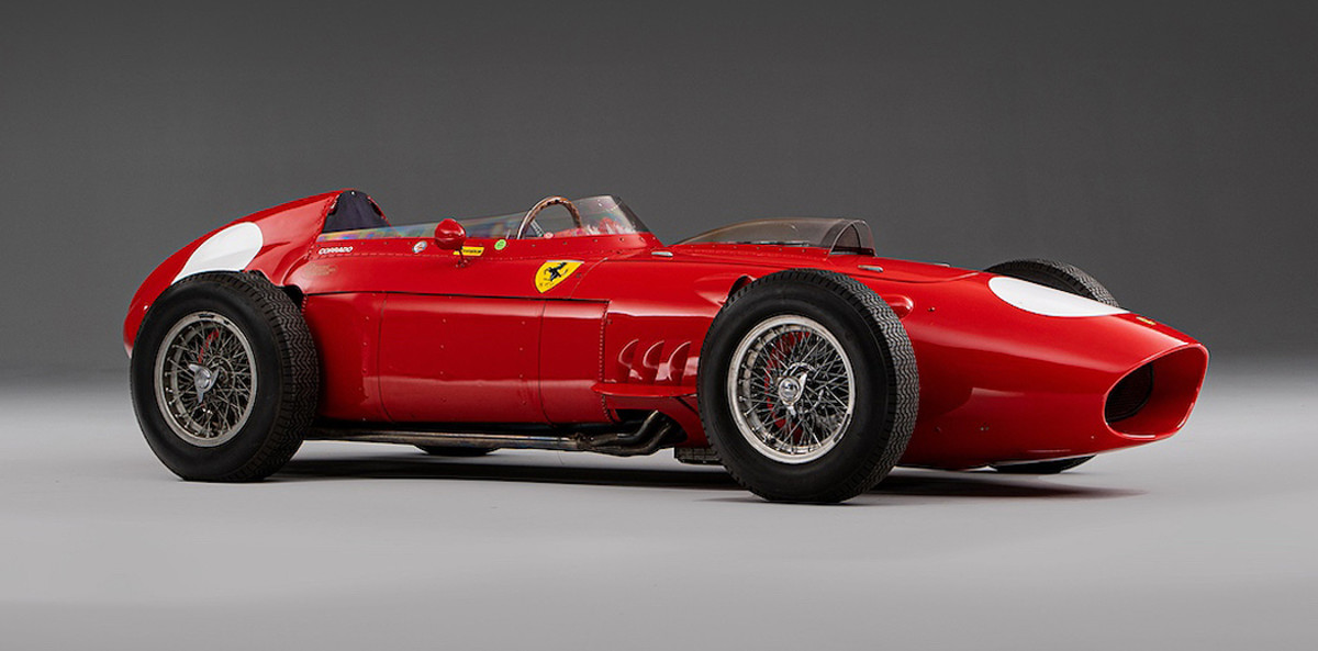 1957-type Ferrari Dino 246/60 historic racing Formula 1 single-seater