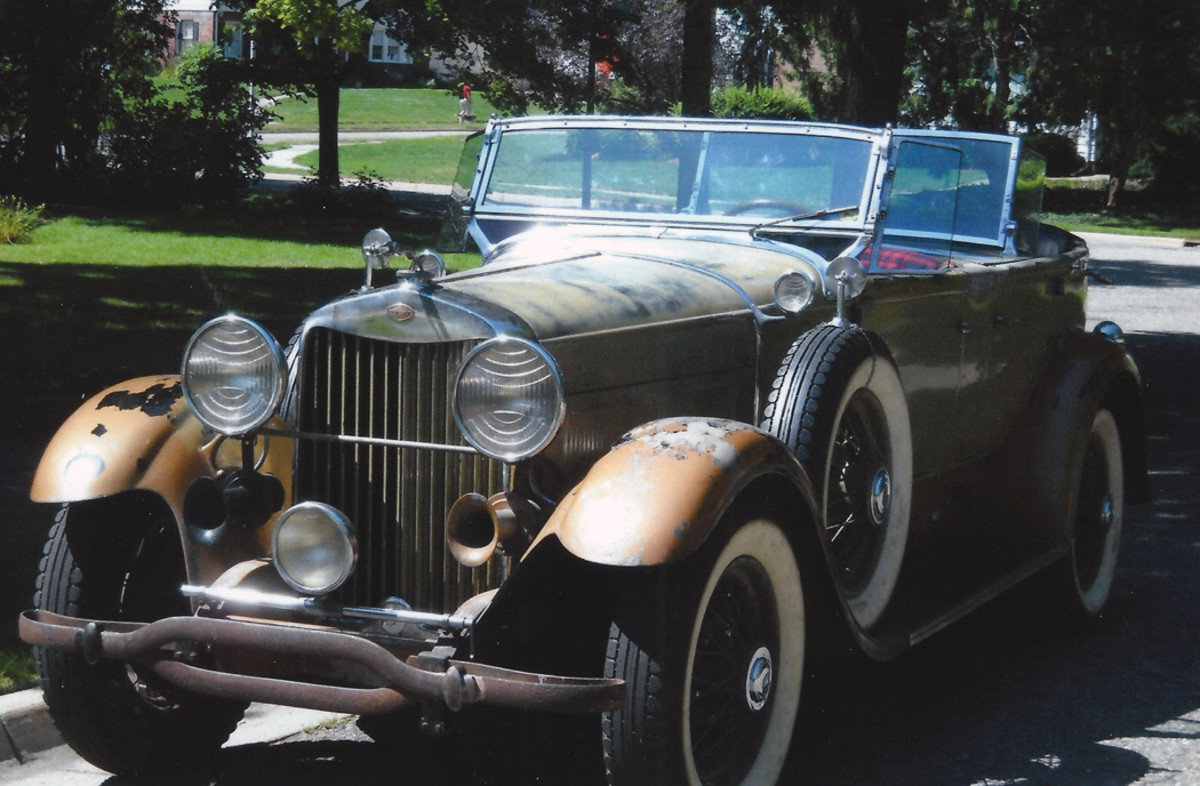 1930 Lincoln front