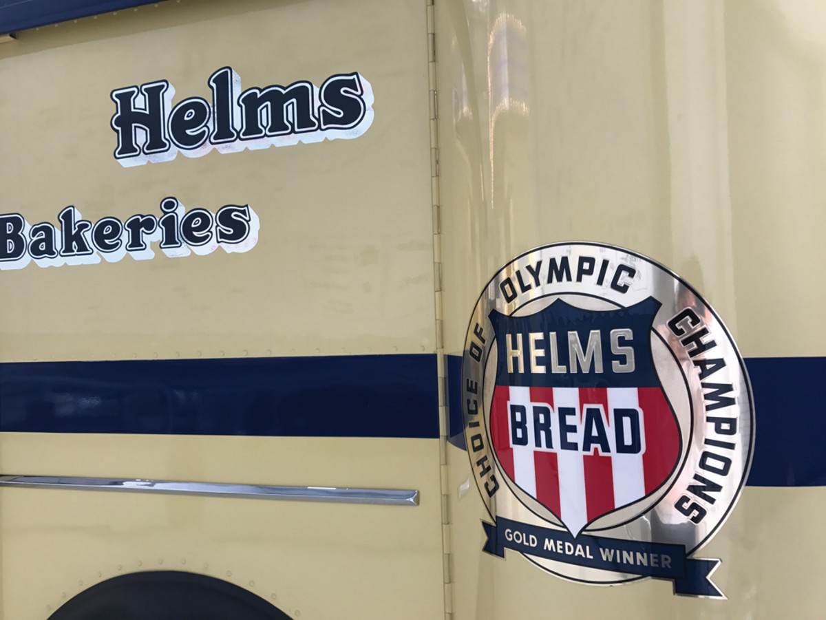 Helms was the official baker of the 1932 Summer Olympics.