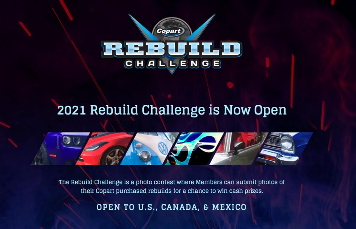 Copart Rebuild Challenge