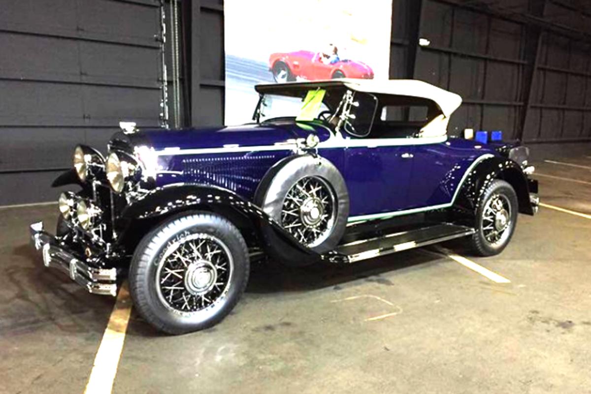 AACA Zenith Award winner of 2019David Landow's 1931 Buick 8-94 Sport Roadster