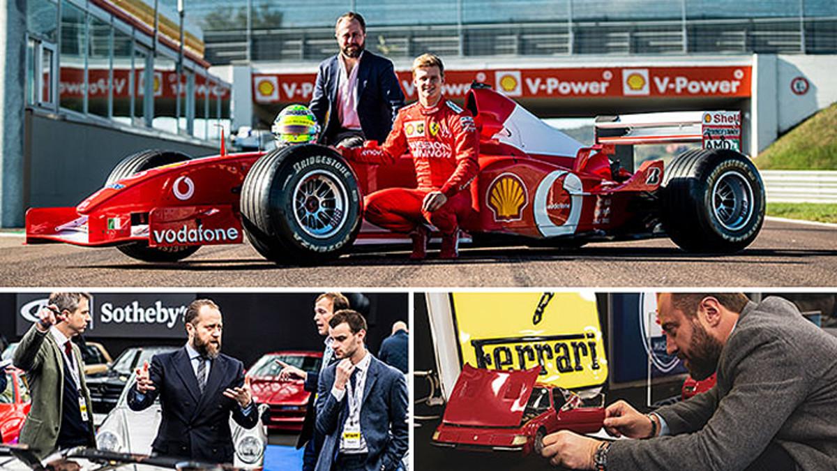 Oliver behind F1