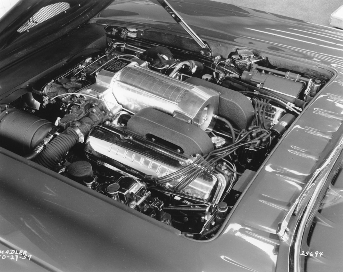 By about mid-fall of 1959, a Latham axial flow supercharger was installed.