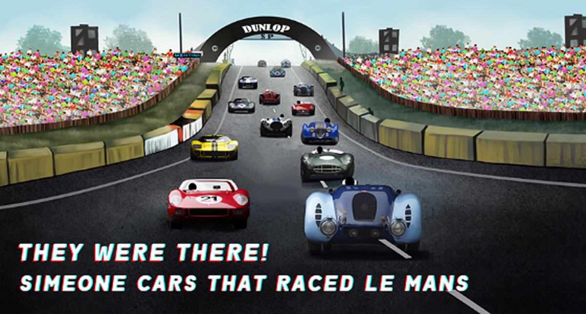 They Were at Le Mans