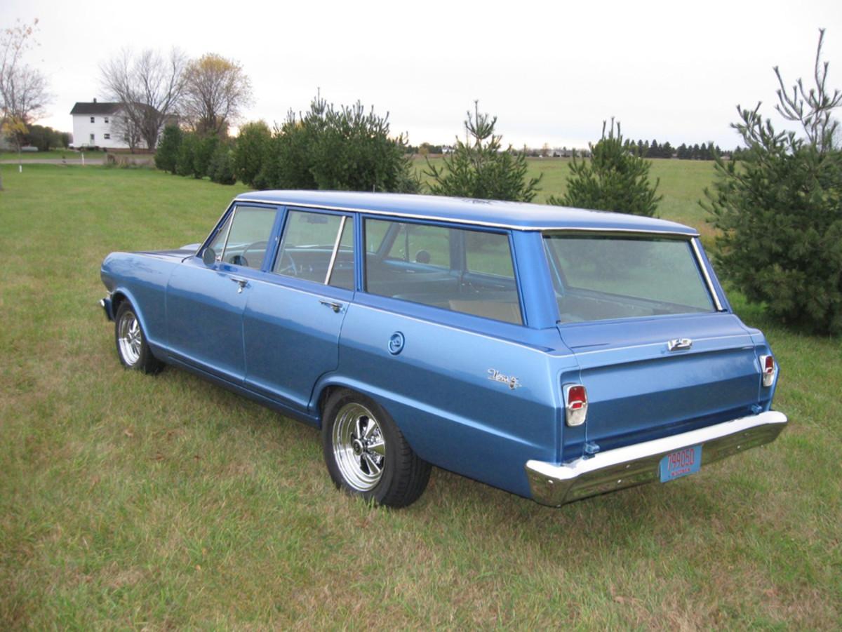 1963 Chevrolet Nova station wagon 2