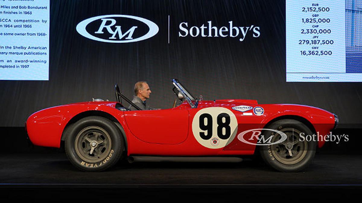 1963 Shelby 289 Cobra Works