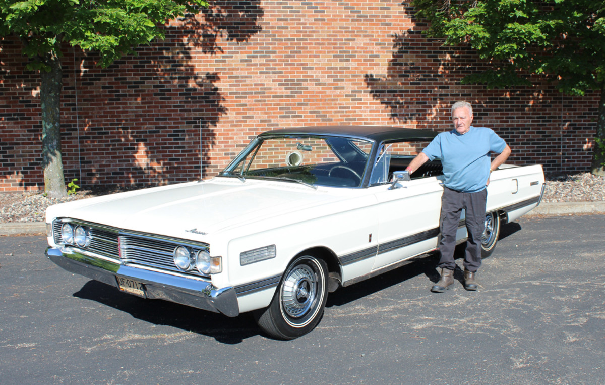John Kroll and the unique Merc that Iacocca made possible.