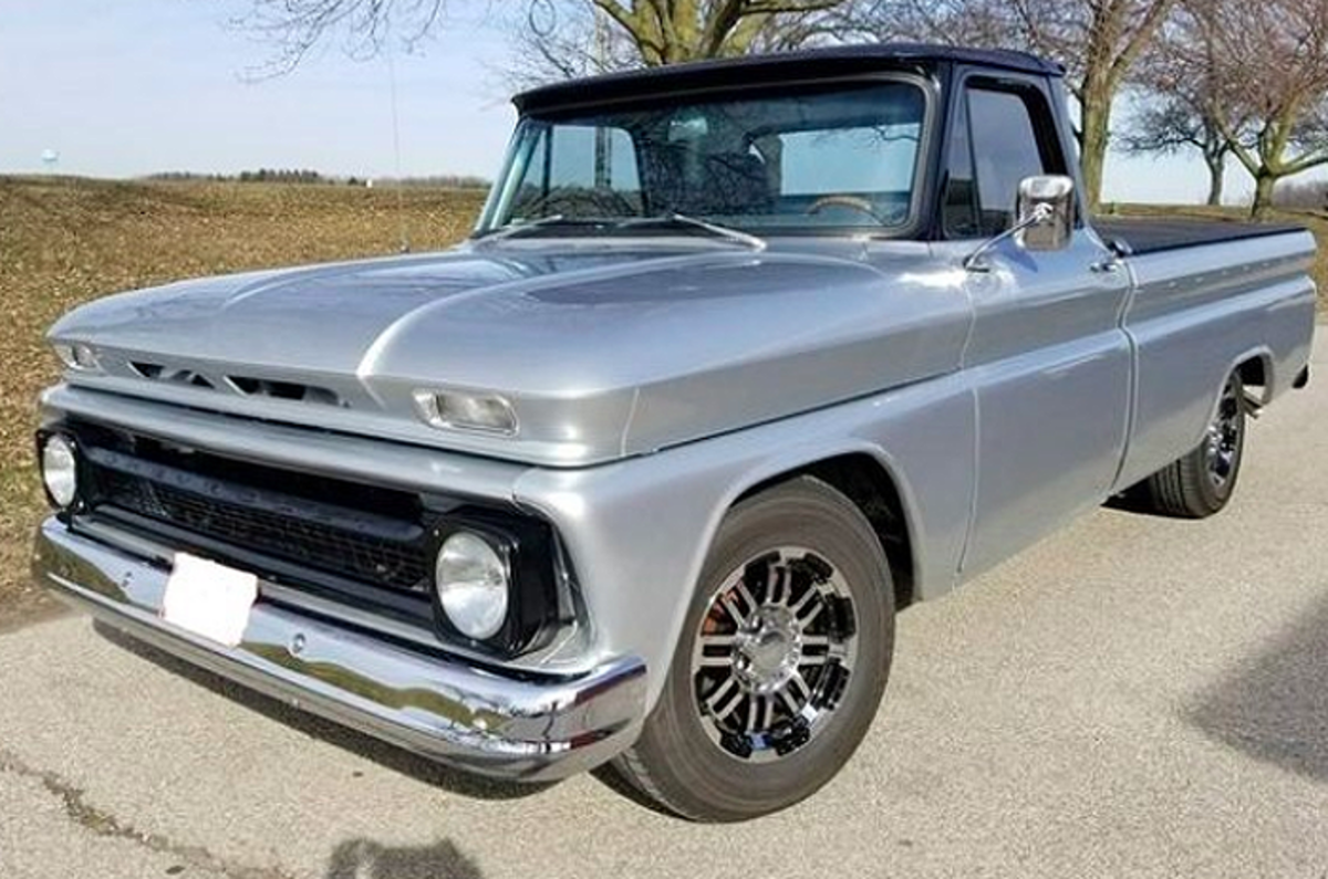 1966 Chevrolet C20 is one of the many rides slated for the 2021 Fall Carlisle Auction